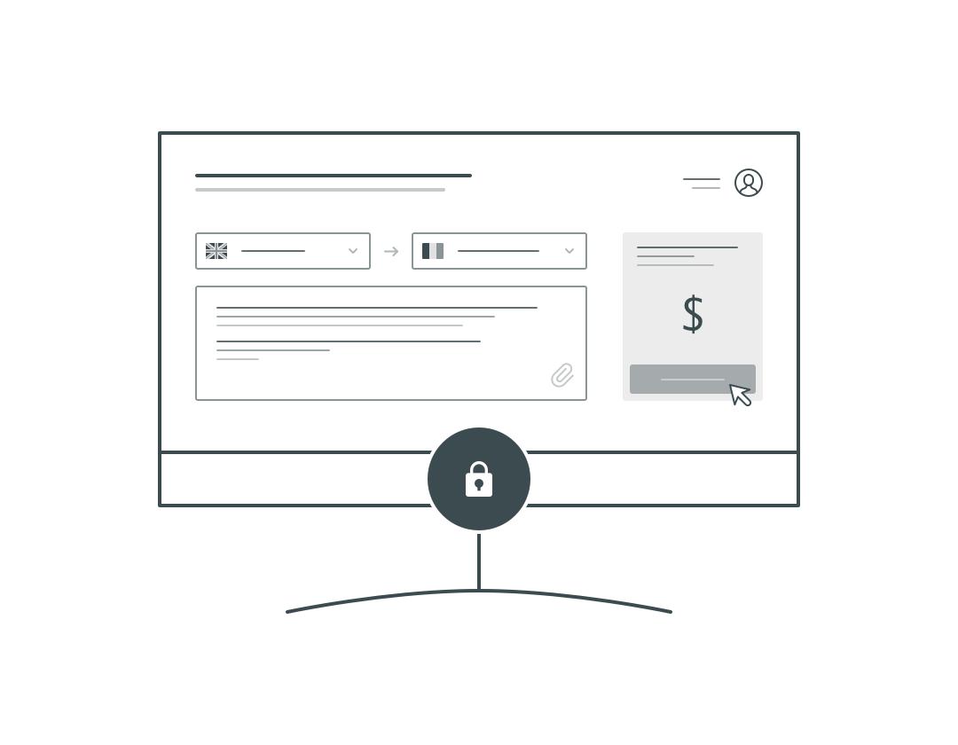 traduction finance confidentialite et securite